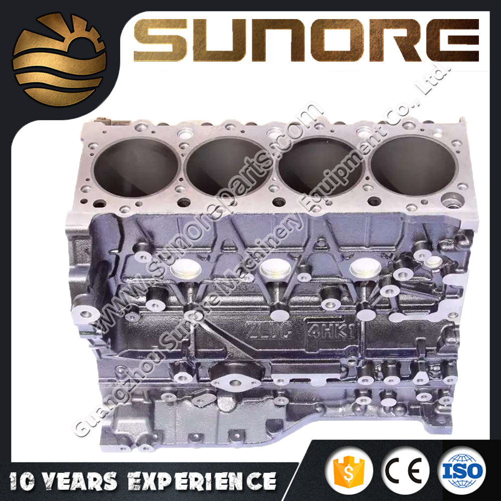 China Manufactures Reliable Quality ISUZU Cylinder Block for 4HK1 6HK1 6BD1