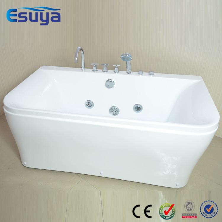 Portable acrylic bathtub for adult indoor portable massage for Indoor bathroom hot tubs