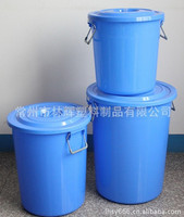 Plastic Material and Outdoor Usage plastic waste bins