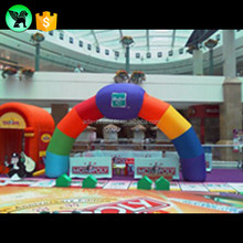 Event Rainbow Arch Party Rainbow Replica Inflatable Customized Arch Entrance A589