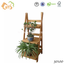 Good quality natural flower pot garden bench