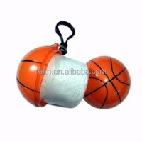 Promotion items|Basket ball raincoat Poncho Custom Logo In stock