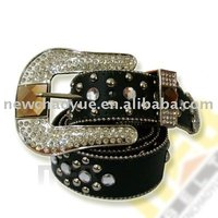 Ladies Fashion Wholesale Rhinestone Metal Belt