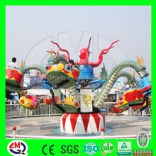 2016 Alibaba trade assurance data NO.1interesting amusement rides octopus