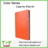 PU Leather Magnetic Smart Cover Colorful Hard Back Case Shell For iPad Air/New iPad Mini 2 Retina/IPAD 2 3 4 5