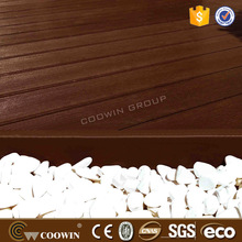 Low maintenance Plastic lumber solid flooring korea