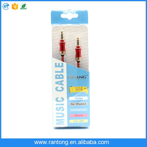 Factory sale originality 3.5mm audio cable fast shipping