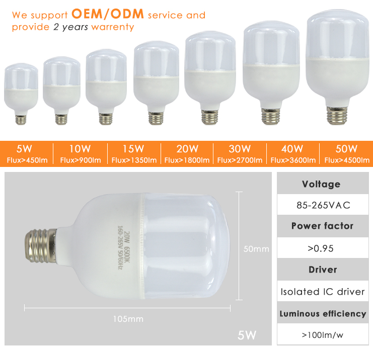 Wholesale milkly cover e27 5w led bulb lamp/energy saving bulbs with 2years warranty
