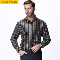 Best sellinng mens stripe mercerized cotton shirt for man