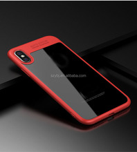 Newest arrival high clear silicone anti-shock bumper mobile phone protective case cover for iphone 5/6/6 plus