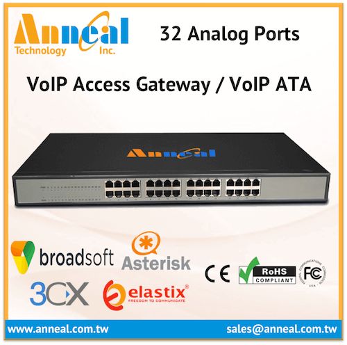 Affordable Cost Effective 32 Port FXS GSM Gateway for VoIP IP PBX