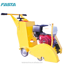 Concrete and asphalt road cutter for road maintenance use