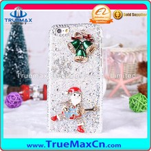 Christmas Carnival Mobile Phone Case for iPhone 7 7 Plus, for iPhone 7 7 Plus Flash Powder Post Diamonds Case
