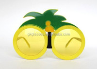 Round Palm Tree Party Glasses (CL948)