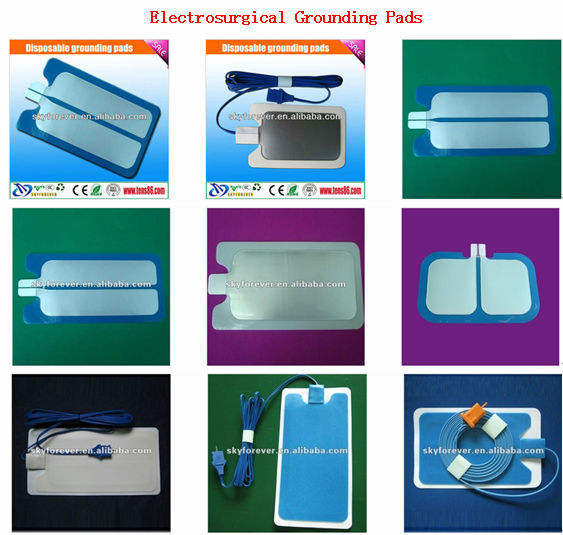 physical electrode pads for tens