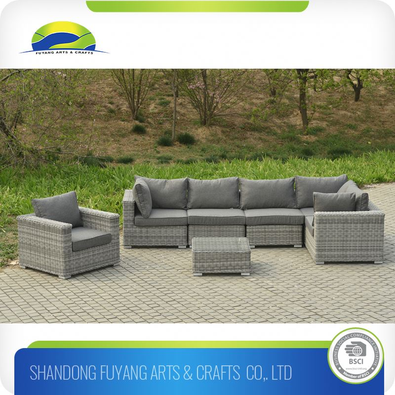 Sectional Sofa Recliner Patio Rattan Sofa Bed