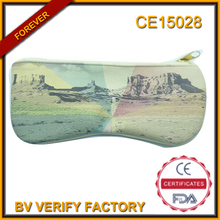 CE15041 watercolour printing microfiber sunglasses pouch