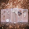 Free Shipping Wholesale New flower fancy bling Diamond Case for iPhone 6, for iphone 6 diamond cover, fancy case for iphone 6