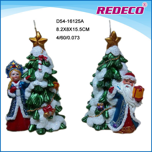 Hot Sale Decorative Christmas Candle Gift