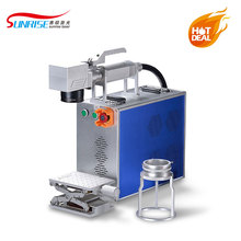 Lowest price Mini Mopa laser marking mahcine for stainless steel and alminium