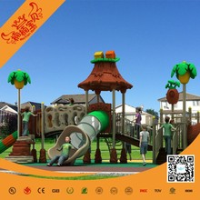 Metal AND PLASTIC playground slide for sale, outdoor preschool playground equipment