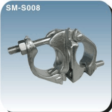 Forged and pressed swivel coupler hydraulic quick coupler
