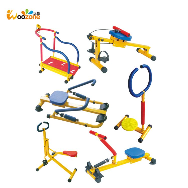 wholesale safe children fitness equipment rowing machine kids fitness