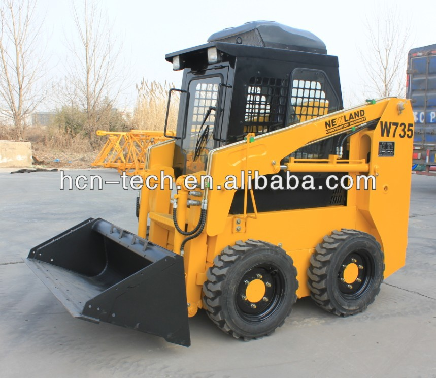 hot small skid steer loader with perkins engine for sale