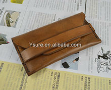 Wholesale new products universal real leather wallet case for iphone 5 iphone4 4s