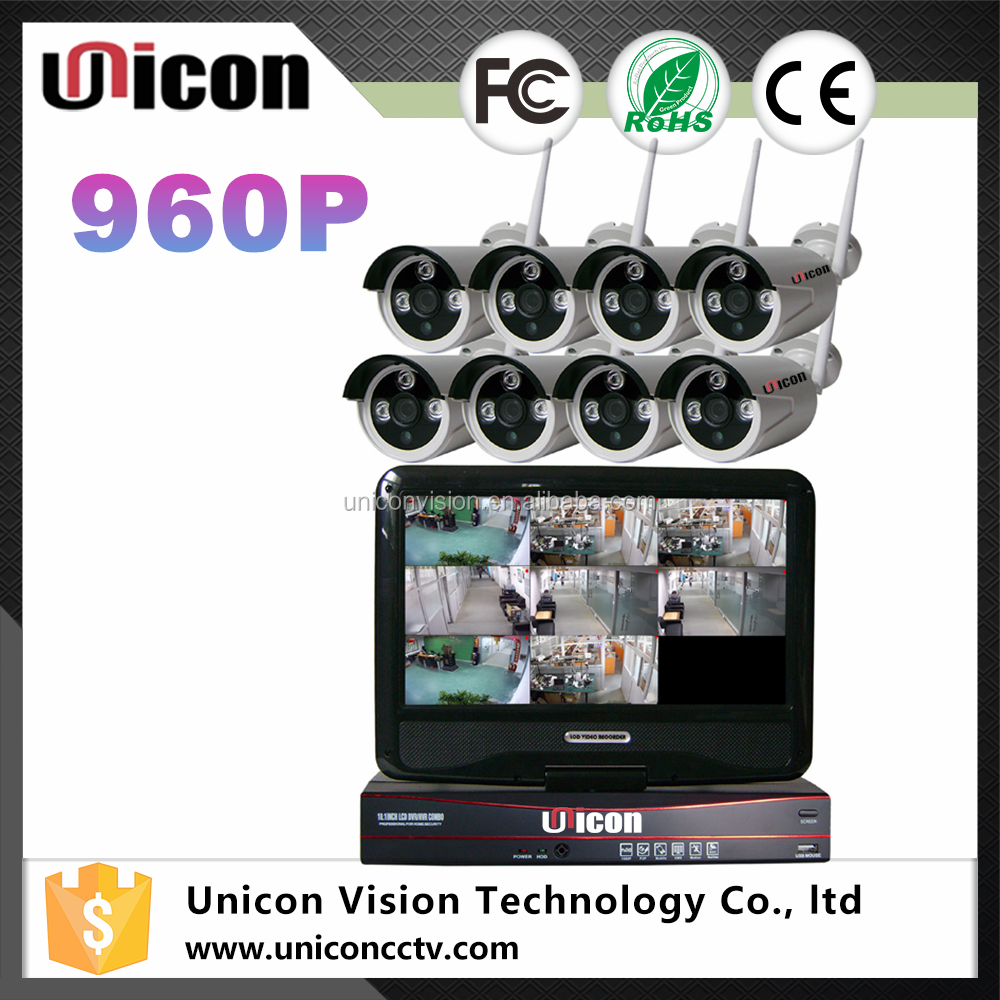 Unicon Vision Professional H.264 CCTV 8CH WIFI NVR Kit