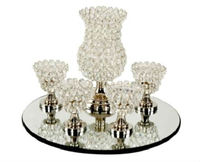 Beautiful table decoration big tea light set