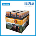 Supermarket advertising POP cardboard paper full pallet display stands for remote control