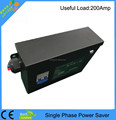 110V two phase power saver with breaker on device,energy power saver