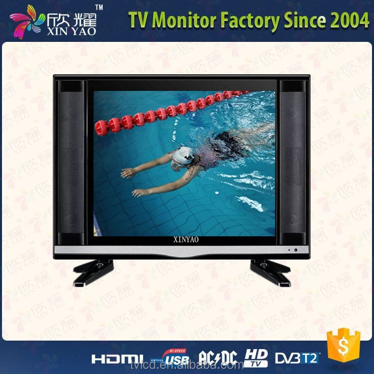 cheap price lcd panel led tv ci card square screen 15 17 19 inch oled tv with dvb-c tuner