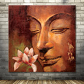 handmade Buddha figure canvas oil painting for sale