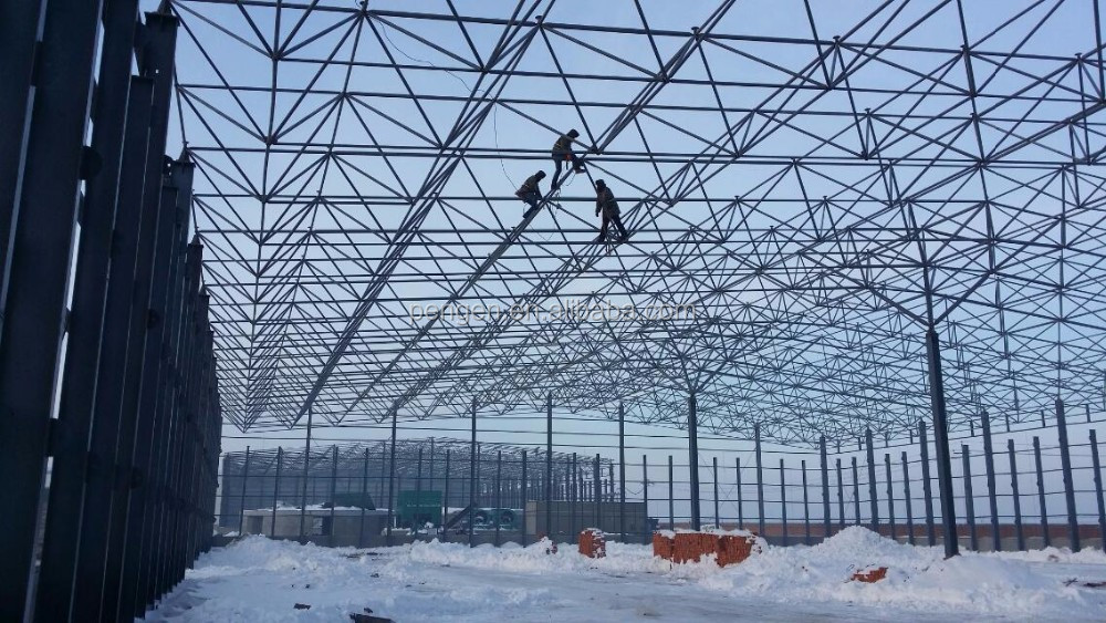 airport terminal design manufacture steel structure building with ISO9001 Certification