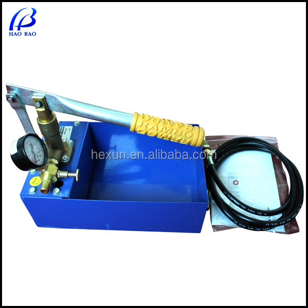 SY-25X Testing Equipment Manual Water Hydrostatic Pressure Pump Test Bench