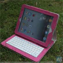 keyboard case with tablet battery with 4000mAh built-in battery for ipad 2 3 4 P-BLUETOOTHKB033