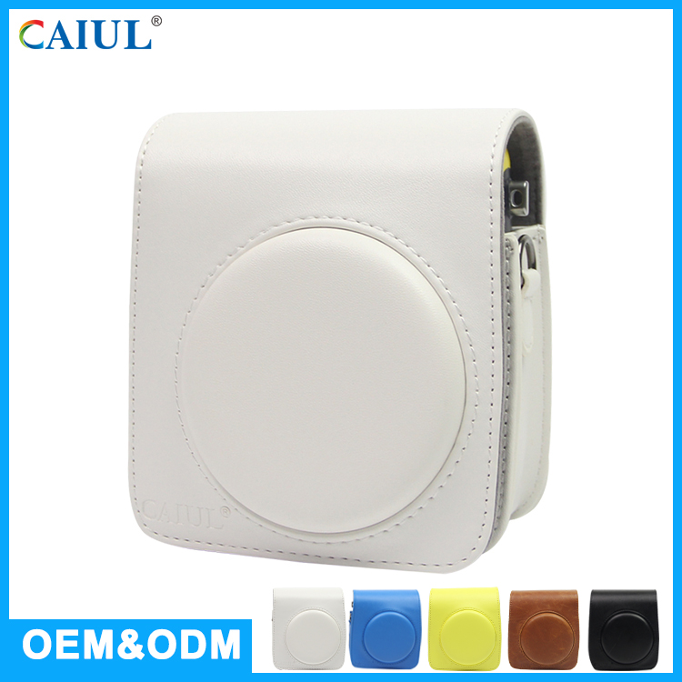CAIUL Factory Direct Sell PU Leather Vintage Style Instant Camera Bag Women For Fujifilm Instax Mini 70
