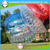 Colorful giant human inflatable belly bumper ball