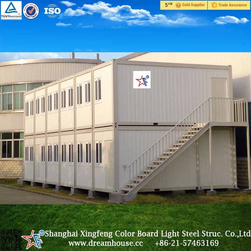 fast assemble 20ft container house/container apartment building/hotel