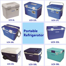 portable refrigerator vaccine/blood transport ice cooler box with CE Certificate