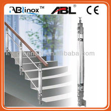 High quality and durable stainless steel balustrade rails and fittings