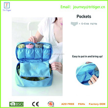 Portable foldable Waterproof Travel storage bag Organizer for underwear