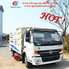 DFAC 4x2 road sweeping vehicle, street cleaning electric vehicle with wash function, utility vehicles for sale