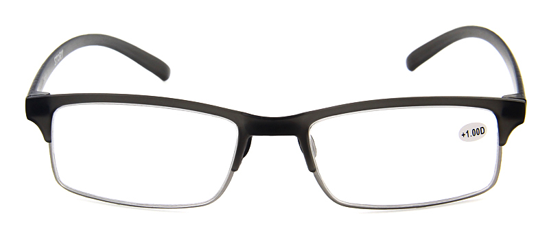 TR90 memory materail design wholesale 0.75 reading glasses with optical lens