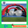 race tracks inflatable zorb rolling ball inflatable grass ball for sale