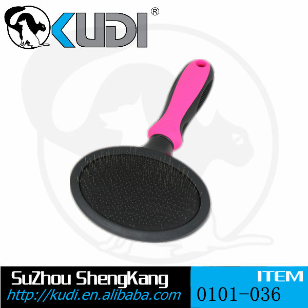 2016 hot selling pet products soft slicker pet cleaning brush