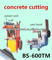 BS-600TM ytong cutting blade saw machinery for concrete and rock