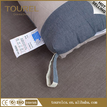 Ventilative Fabric Seat Back Support Lumbar Support Pillow and Seat Cushion Sets